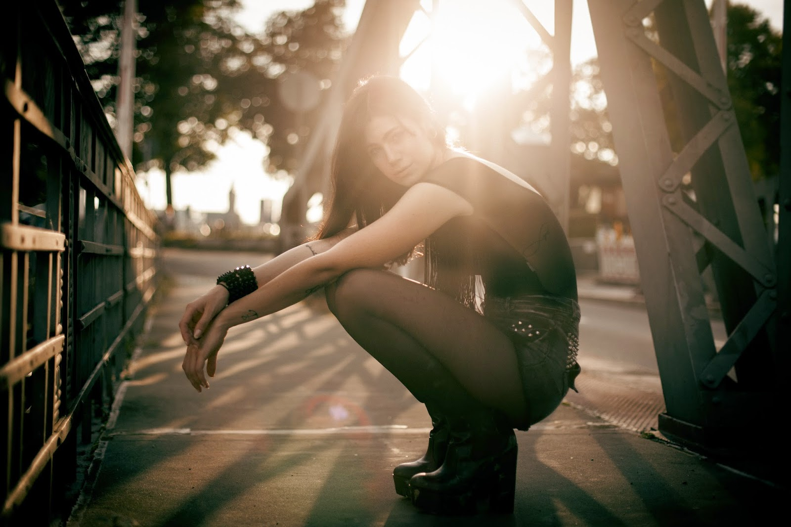 She laughs like god, her mind is like a diamond